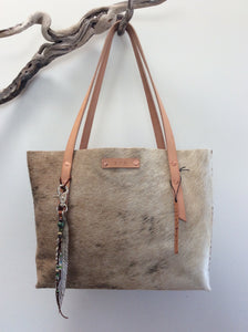 #202 Blond Hair Cowhide Tote