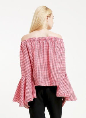 MEX Avery Off Shoulder Top by Vintage Treasure