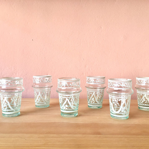 Mini Traditional Tea Glasses by Chabi Chic