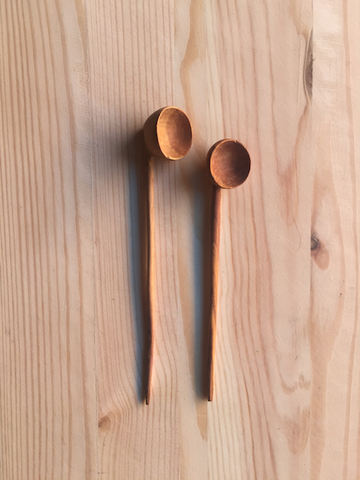 Mini Olive Wood Spoons by Chabi Chic