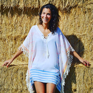 Ikat Caftan by Coconut Milk