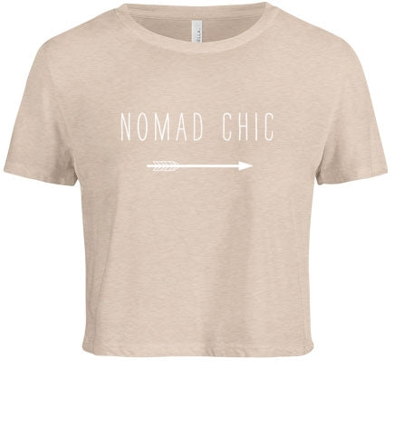 Nomad Chic Cropped Tee