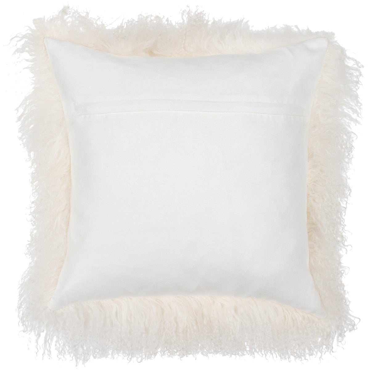 "Curly Lamb Throw Pillow - 16"" x 16"""
