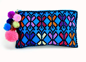 Chiapas Hand Woven Zip-Pouch #6 by Nomad Chic