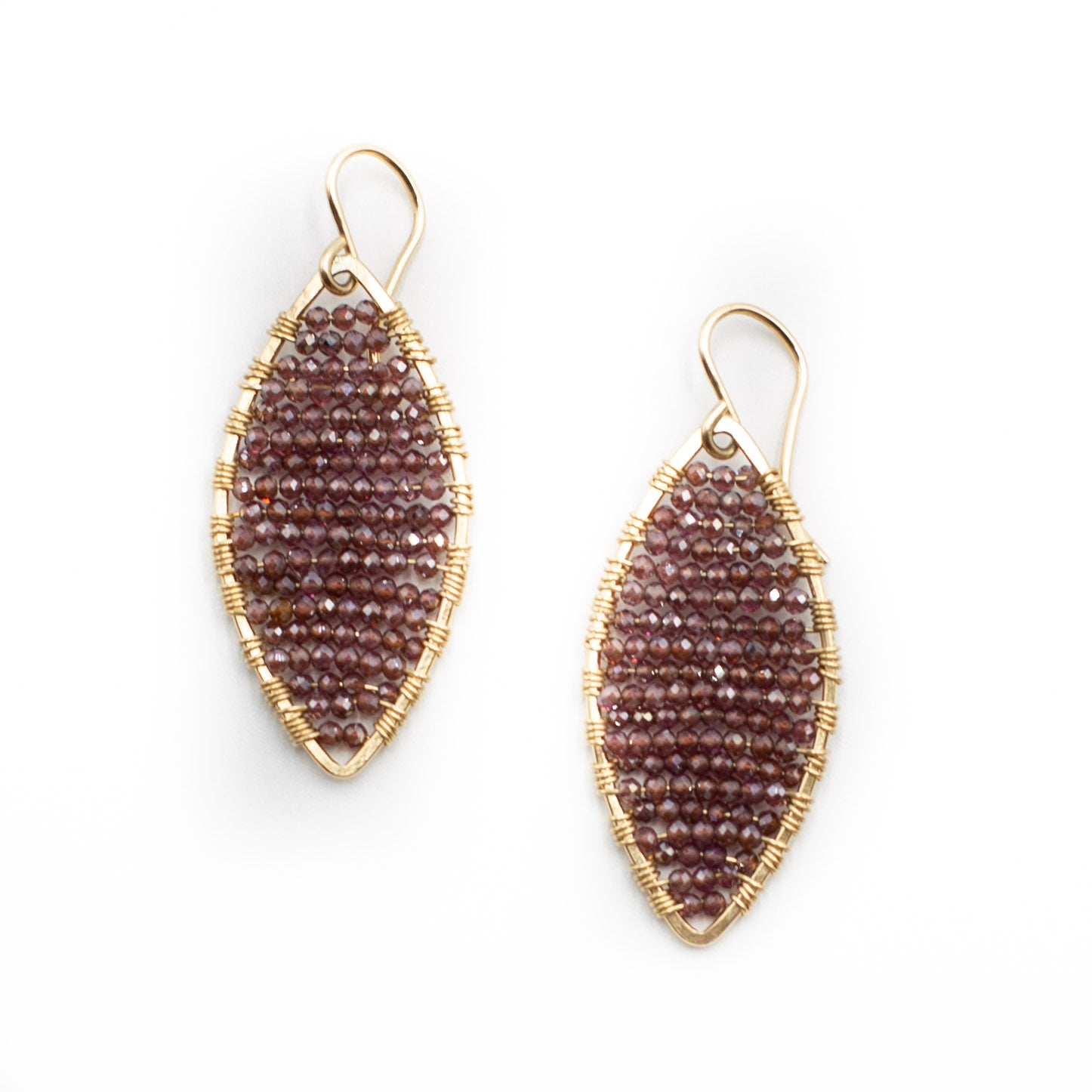Marquis Shaped Earrings
