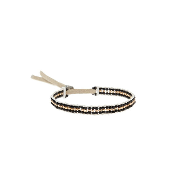 Extra Small Stripe Warrior Bracelet by Sidai Designs