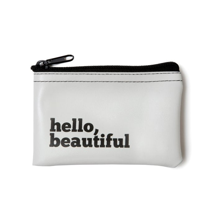 Hello Beautiful Money Pouch