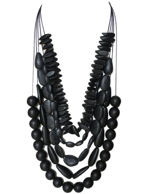 MEX Horete Tassel Necklace by Erika Pena