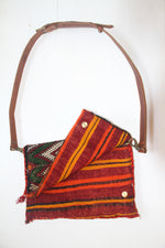 Oversized Kilim Cross Body | Clutch