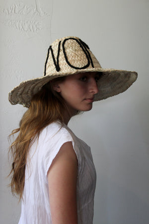 N O M A D  Large Brim Straw Hat