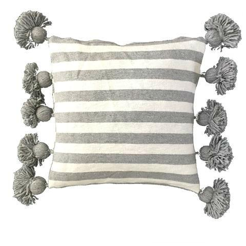 Pom Pom Throw Pillow