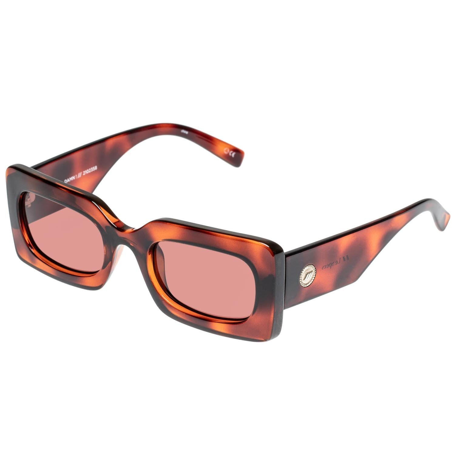 Oh Damn! Sunglasses - Toffee Tort