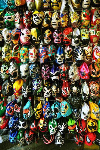 Lucha Libre Mask by Nomad Chic
