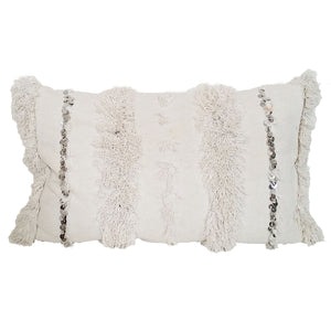Mallow Moroccan Handira Throw Pillow