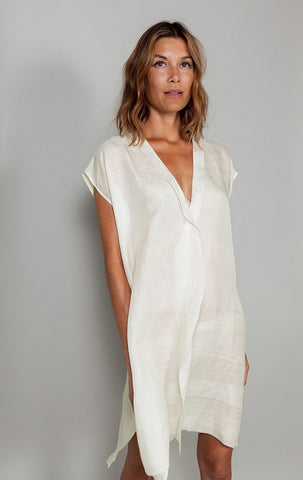 MEX Handwoven Silk Tunic by Two New York