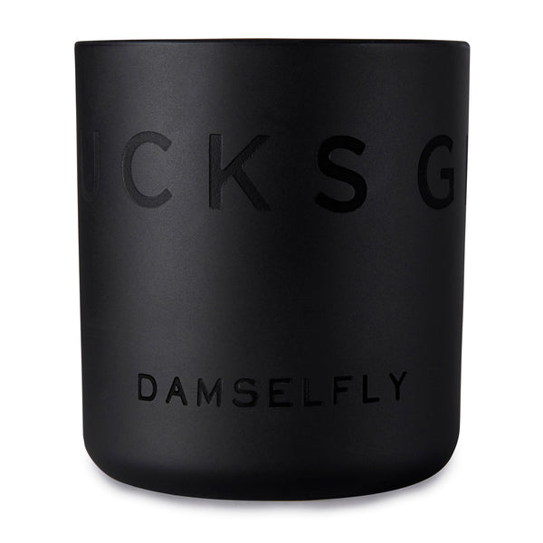 No Fucks Given Candle by Damselfly