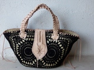 Crochet Straw Bag