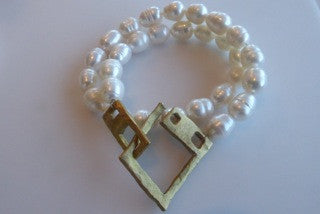Pearl Wrap Bracelet by Allie & Me