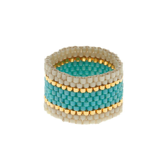 Wide Woven Ring by Sidai Designs