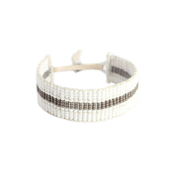 Narrow Striped Warrior Bracelet by Sidai Designs