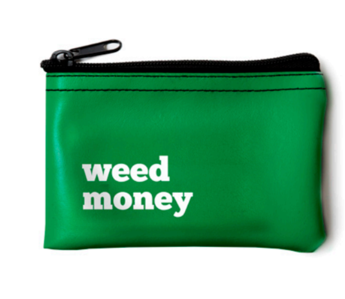 Weed Money Pouch