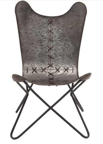 Ingenious in Conception Metal Stitched Chair
