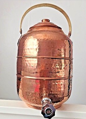 Copper Water Pot Dispenser
