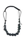 Cord Classic Necklace | Black / Black