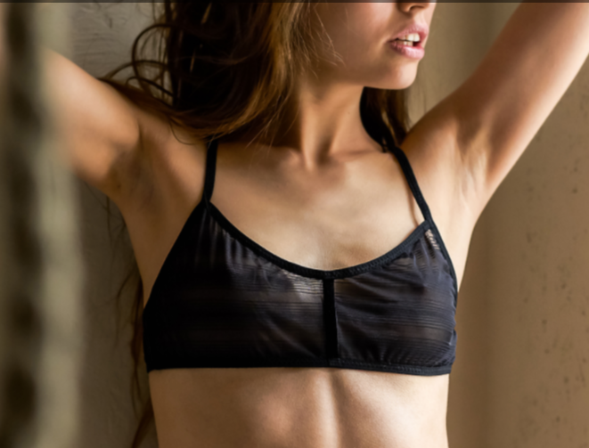 Sonja Sheer Bra w/ Racer Back