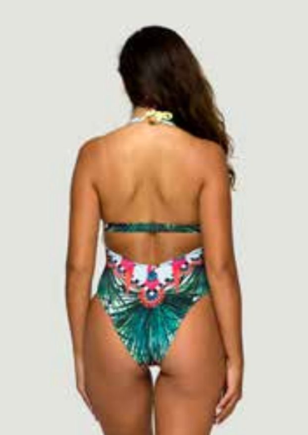 Frida Deep V One Piece