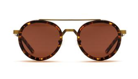 Spheres Brandy Tort with Copper Lenses
