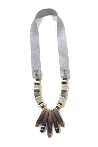 Spines Necklace by Twine & Twig