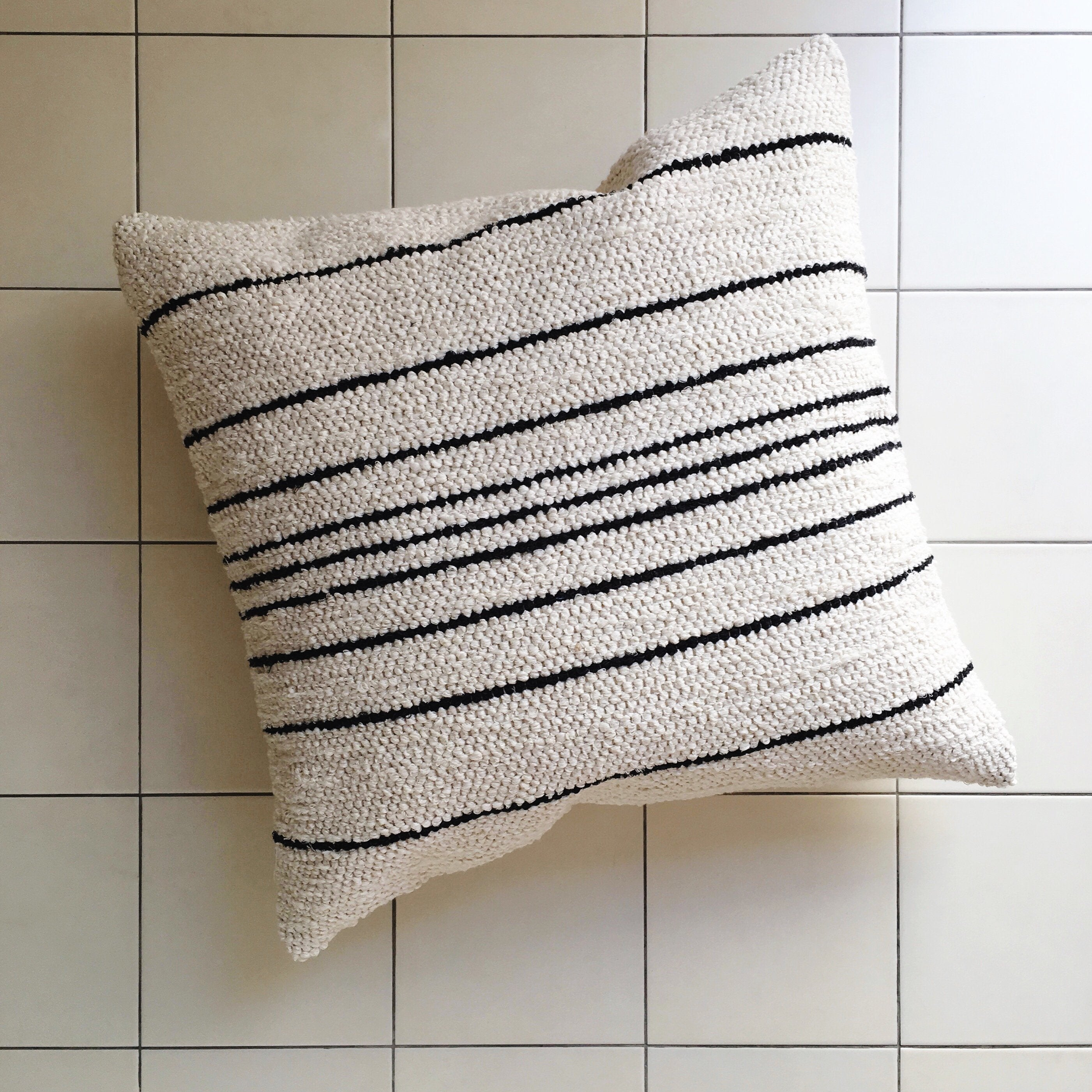Cuba Thin Stripe Pillow