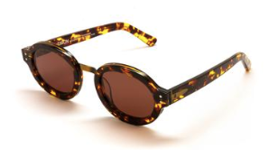 Timon Brandy Tort with Copper Lenses