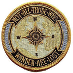Not All Those Who Wander Are Lost Patch