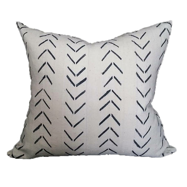 Dash African Mud Cloth Throw Pillow