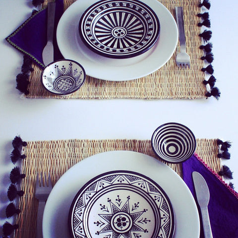 Tassel Placemats (Set of 2)