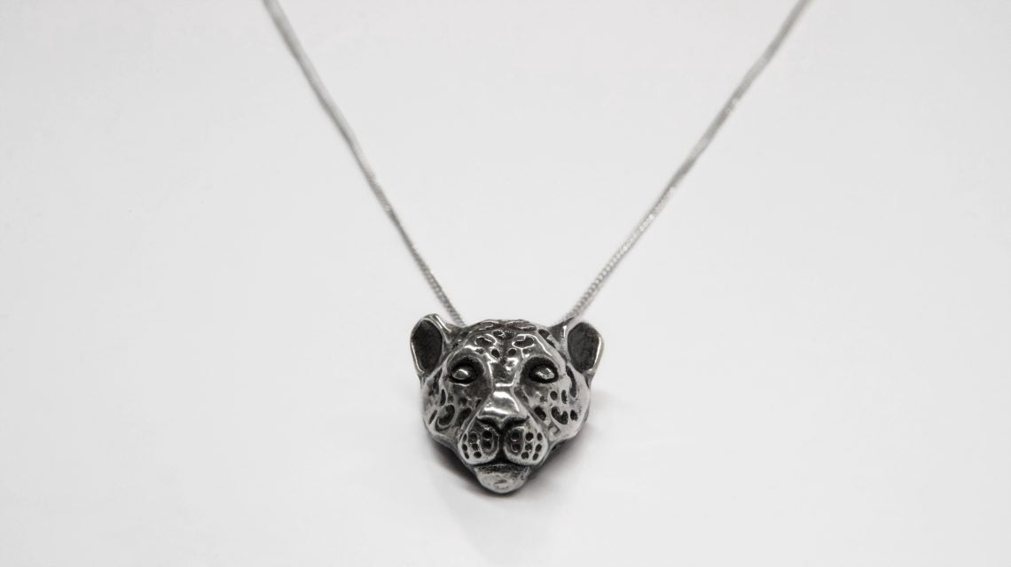 Balam Silver Necklace