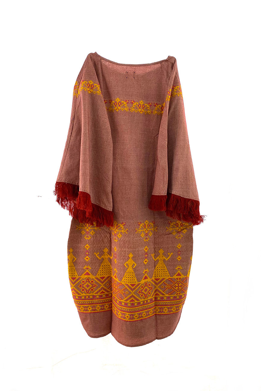 Gaia Dress - Terracotta