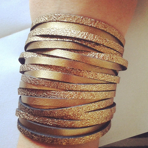 Crackle Shredded Cuff  by Agent Antoinette