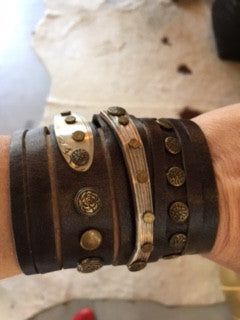 MEX Whimsey Cuff by Leather Girl Kelley