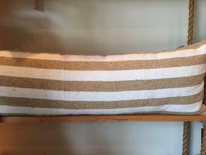 Striped Bolster by Nomad Chic