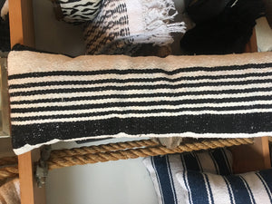 Striped Bolster