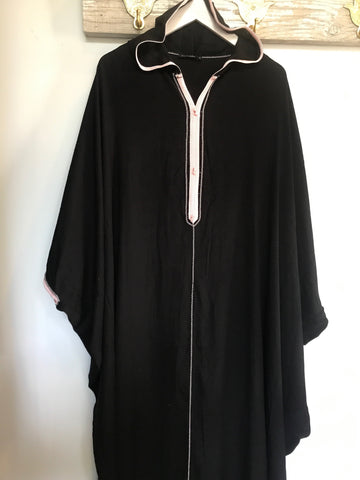Moroccan Hooded Caftan by Diamantine