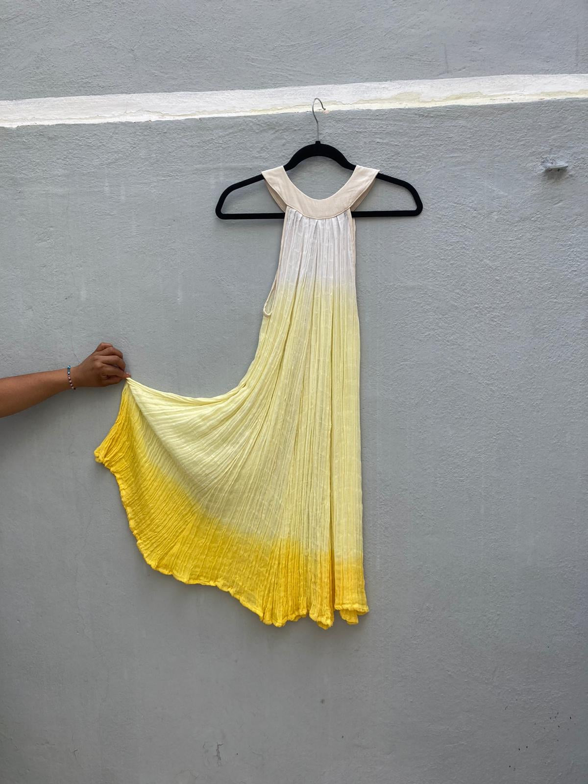 Yellow Ombre Los Cabos Dress