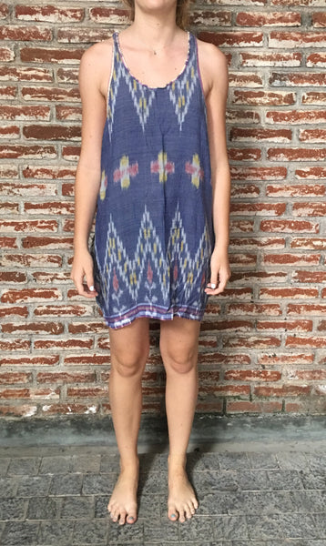 MEX Ikat Tank Dress by O La La