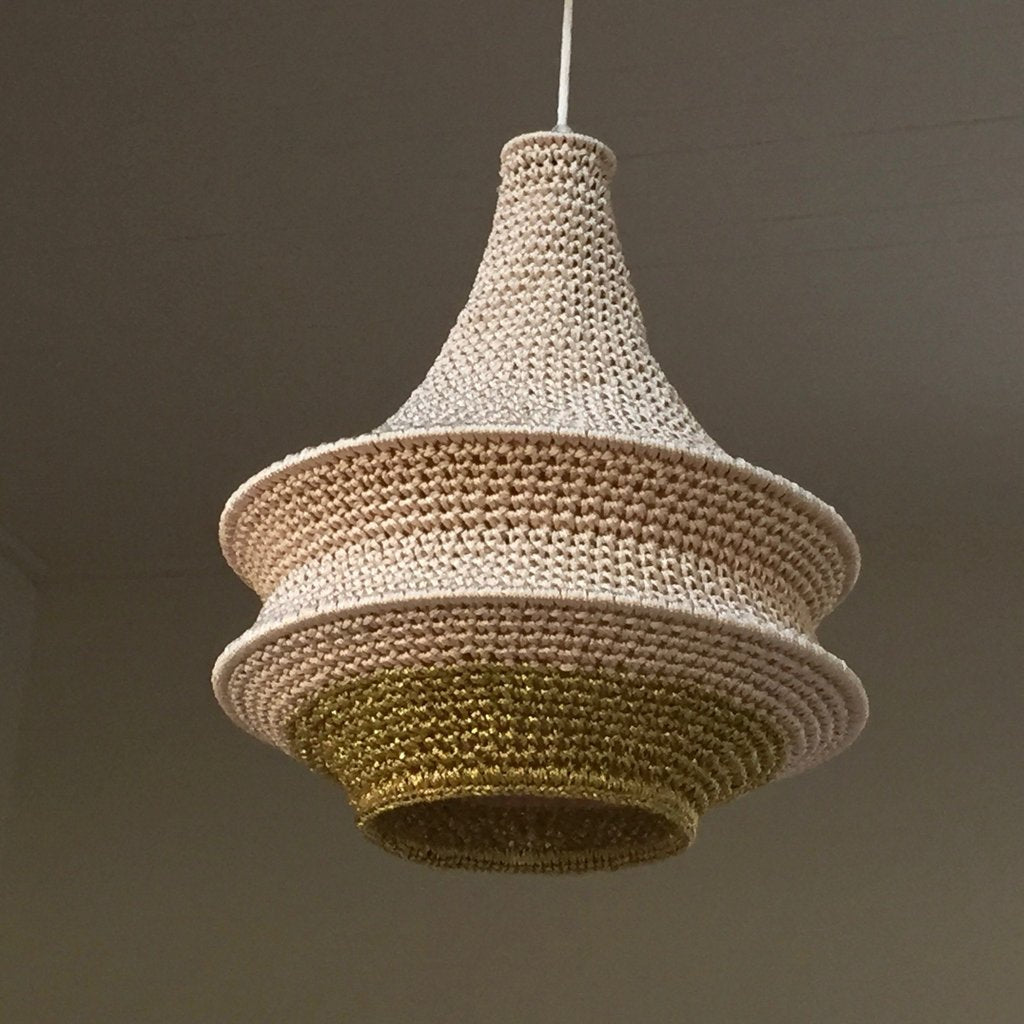 Joosh Pendant - Small (Malika Crochet Light)