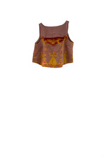 Eris Cropped Top - Terracotta