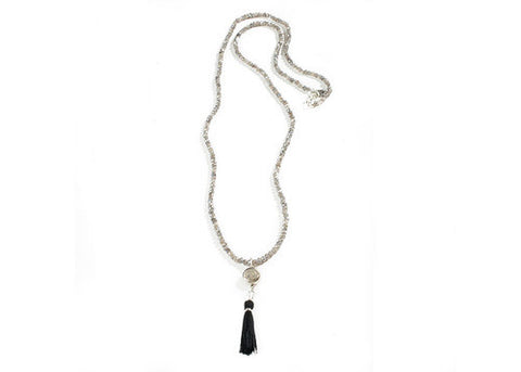 MEX Piccolo Lux Fringe Necklace by VSA Designs