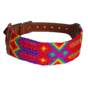 Handwoven Dog Collar by Eclectic Array